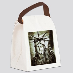 LibertyLady Canvas Lunch Bag