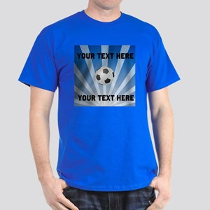 Personalized Soccer Dark T-Shirt