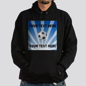 Personalized Soccer Hoodie (dark)