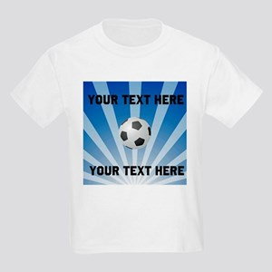 Personalized Soccer Kids Light T-Shirt