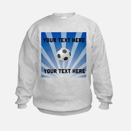 Personalized Soccer Sweatshirt