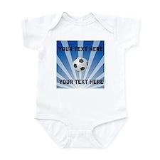 Personalized Soccer Infant Bodysuit