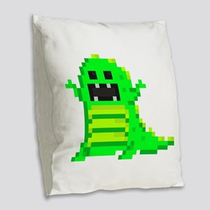 8bittrex-g Burlap Throw Pillow
