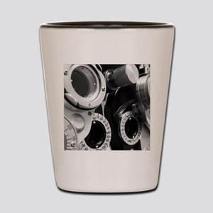 Phoropter Machine Shot Glass