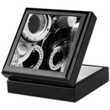 Optometry Square Keepsake Boxes