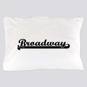 Broadway Classic Retro Design Pillow Case