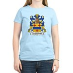 Jacquemin Family Crest Women's Light T-Shirt