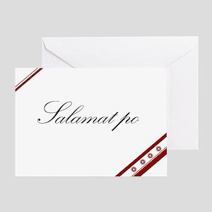 Salamat Po Thank You Card