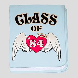 Class of '84 baby blanket
