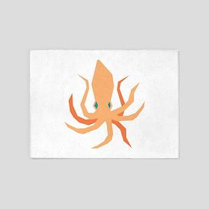 Squid 5'x7'Area Rug