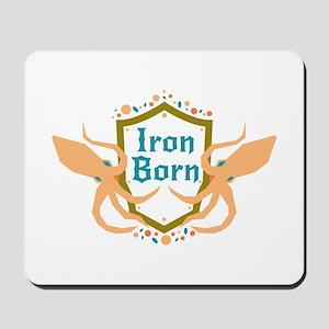 Ironborn Squid Shield Sigil Mousepad