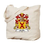 Jacobe Family Crest Tote Bag