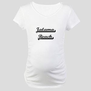 Jalama Beach Classic Retro Desig Maternity T-Shirt