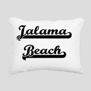 Jalama Beach Classic Ret Rectangular Canvas Pillow