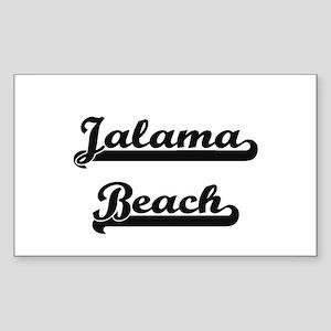 Jalama Beach Classic Retro Design Sticker