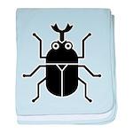 Beetle baby blanket