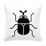Beetle Everyday Pillow