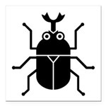 Beetle Square Car Magnet 3