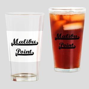 Malibu Point Classic Retro Design Drinking Glass