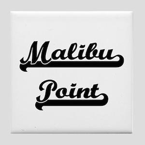 Malibu Point Classic Retro Design Tile Coaster
