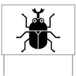 Beetle Yard Sign