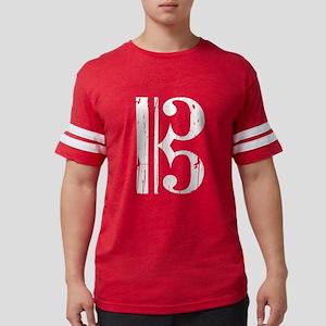 Distressed Alto Clef, C Clef T-Shirt