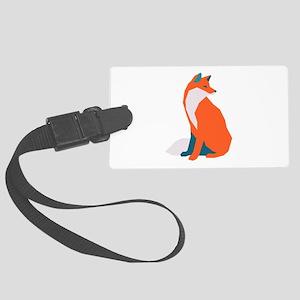 Fox Luggage Tag