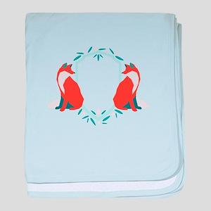 Fox Shield Sigil baby blanket