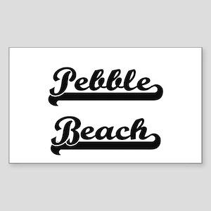 Pebble Beach Classic Retro Design Sticker