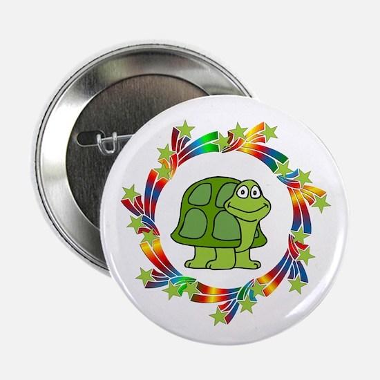 "Turtle Stars 2.25"" Button"