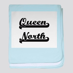 Queen North Classic Retro Design baby blanket