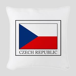 Czech Republic Woven Throw Pillow