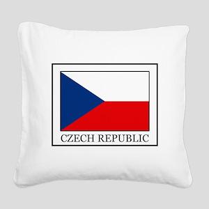 Czech Republic Square Canvas Pillow