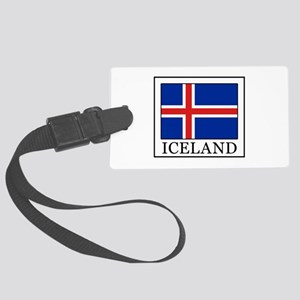 Iceland Large Luggage Tag