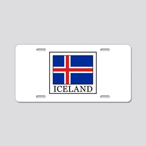 Iceland Aluminum License Plate