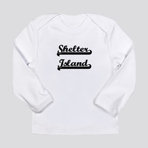 Shelter Island Classic Retro D Long Sleeve T-Shirt