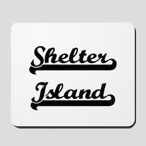 Shelter Island Classic Retro Design Mousepad