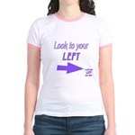 Look To Your Left Jr. Ringer T-Shirt