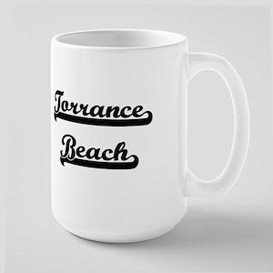 Torrance Beach Classic Retro Design Mugs