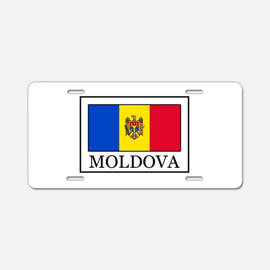 Moldova Aluminum License Plate