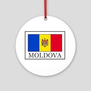 Moldova Ornament (Round)