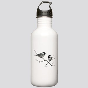 chickadee song bird Stainless Water Bottle 1.0L