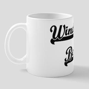 Windward Beach Classic Retro Design Mug