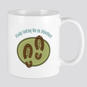 Always Looking For An Adventure! Mugs