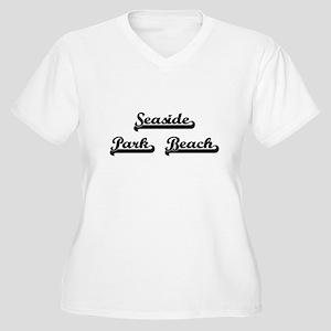 Seaside Park Beach Classic Retro Plus Size T-Shirt