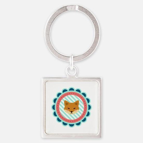 Baby Fox Patch Keychains