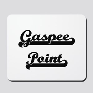 Gaspee Point Classic Retro Design Mousepad