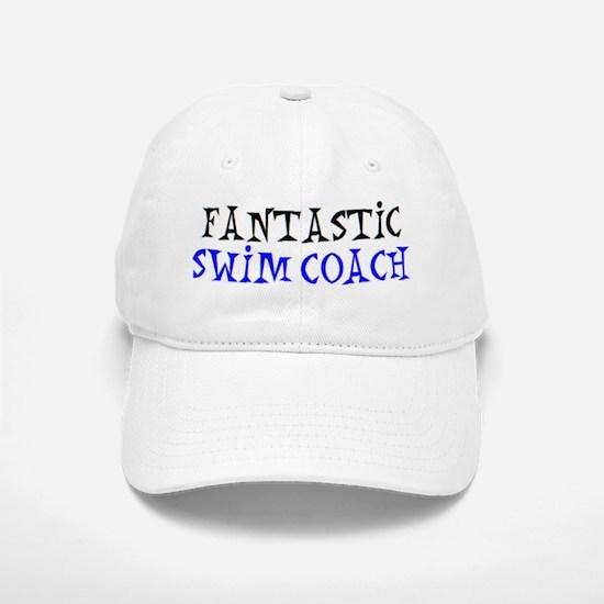 fantastic swim coach Baseball Baseball Cap