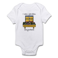 I Can Garden Anywhere Infant Creeper