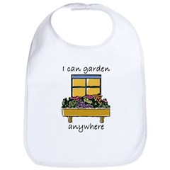 I Can Garden Anywhere Bib